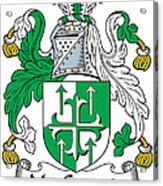 Macgogarty Coat Of Arms Irish Acrylic Print
