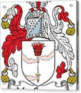 Macgowan Coat Of Arms Irish Acrylic Print