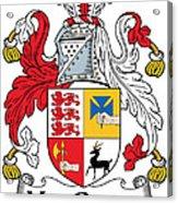 Macgraw Coat Of Arms Irish Acrylic Print