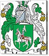 Macguire Coat Of Arms Irish Acrylic Print