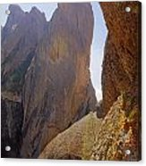 Machete Ridge From North Acrylic Print