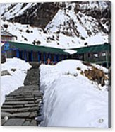 Machhapuchchhre Base Camp, Nepal  Acrylic Print