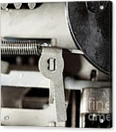 Machine Parts Acrylic Print