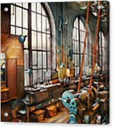 Machinist - Back In The Days Of Yesterday Acrylic Print by Mike Savad