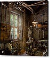 Machinist - Industrial Revolution Acrylic Print