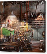Machinist - It All Starts With A Journeyman  Acrylic Print