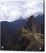 Machu Picchu Acrylic Print
