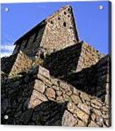 Machu Picchu Hut Peru Acrylic Print