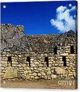 Machu Picchu Peru 13 Acrylic Print