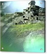 Machu Picchu Reflection Acrylic Print