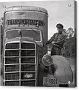 Mack Truck  1943 Acrylic Print