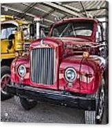 Mack Truck V2 Acrylic Print