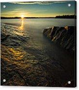 Mackenzie Point September Sunrize Acrylic Print