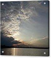 Mackerel Sky Acrylic Print