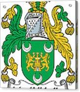 Mackillikelly Coat Of Arms Irish Acrylic Print
