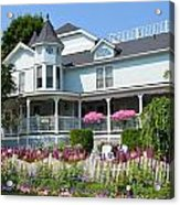 Mackinac Island Hospital Acrylic Print