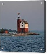Mackinac Lighthouse Acrylic Print