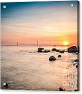 Mackinac Sunrise Acrylic Print
