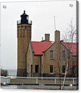 Mackinaw Point Lighthouse Acrylic Print