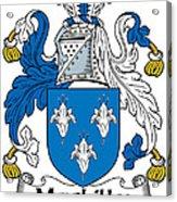 Maclilly Coat Of Arms Irish Acrylic Print