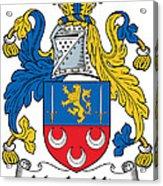 Maclochlin Coat Of Arms Irish Acrylic Print