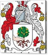 Macloskie Coat Of Arms Irish Acrylic Print