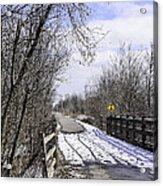 Macomb Orchard Trail Acrylic Print
