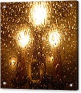 Macro Lights Acrylic Print