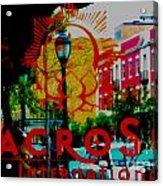 Macro Sun 2 Acrylic Print