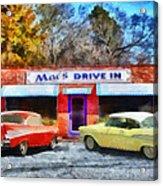 Mac's Drive In Acrylic Print