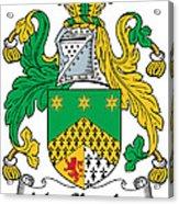 Macshanley Coat Of Arms Irish Acrylic Print