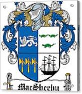 Macsheehy Coat Of Arms Irish Acrylic Print