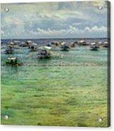 Mactan Island Bay Acrylic Print