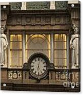 Macy's Clock Acrylic Print