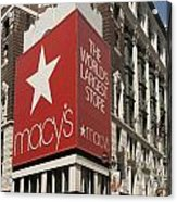 Macy's Department Store Acrylic Print