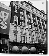 Macys Department Store New York City Acrylic Print