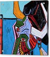 Mad Cow 24x18 Acrylic Print