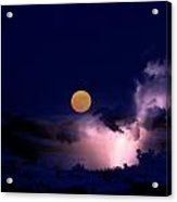 Mad Moon Acrylic Print