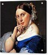 Madame Delphine Ingres Acrylic Print