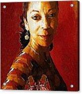 Madame Exotic Acrylic Print