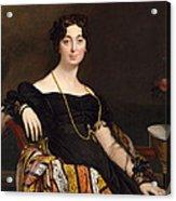 Madame Jacques-louis Leblanc. Francoise Poncelle Acrylic Print