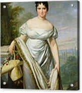 Madame Tallien 1773-1835 Oil On Canvas Acrylic Print
