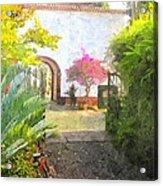 Madeira Acrylic Print