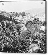 Madeira Public Garden Old Fort 1903 Acrylic Print