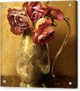 Madeira Roses Acrylic Print