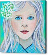 Madelyn Little Angel Of Clear Vision Acrylic Print