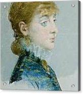 Mademoiselle Lucie Delabigne Acrylic Print