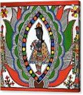 Madhubani 2 Acrylic Print