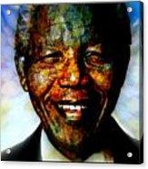 Madiba Father Of Peace And Forgiveness Acrylic Print