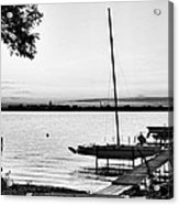 Madison Capitol Across Lake Monona Acrylic Print